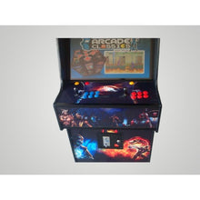 "32"" LED screen arcade"
