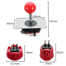 DIY Computer PC USB Arcade Joystick Gamepad Game Controller LED USB Encoder Push Buttons Cables Kit - Home of Arcadia