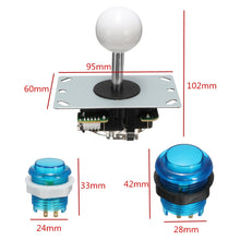 Dimensions of LED buttons and Joystick