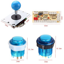 Blue LED button dimesions
