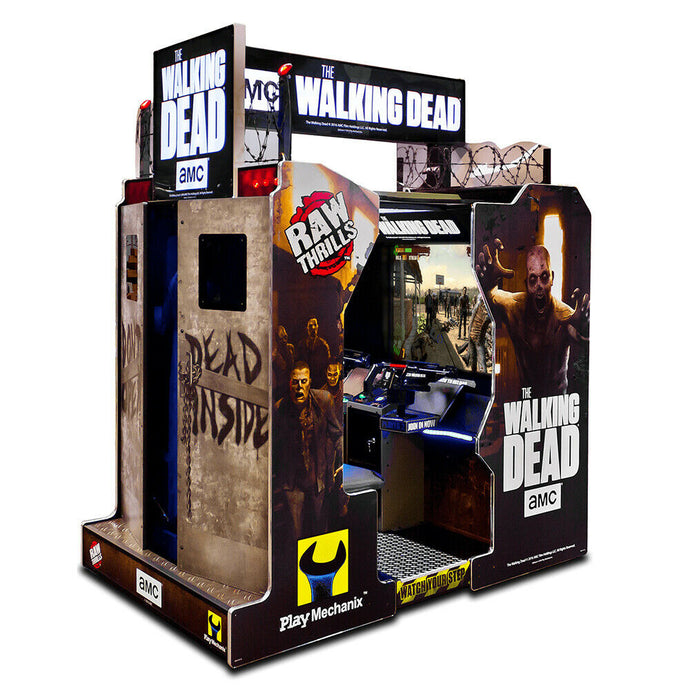 Raw Thrills The Walking Dead Video Arcade Machine