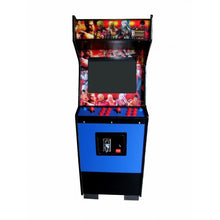 Standard blue arcade front view
