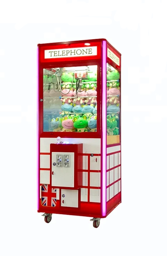 Telephone Booth Claw Machine