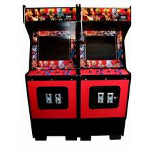 Standard Red arcade front view