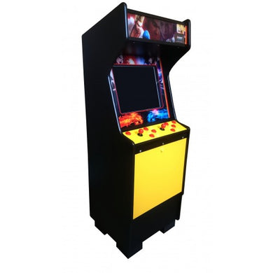Standard yellow arcade side view
