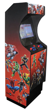 Sleek Arcade - Marvel Decal