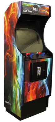 Sleek Arcade - Flame Decal