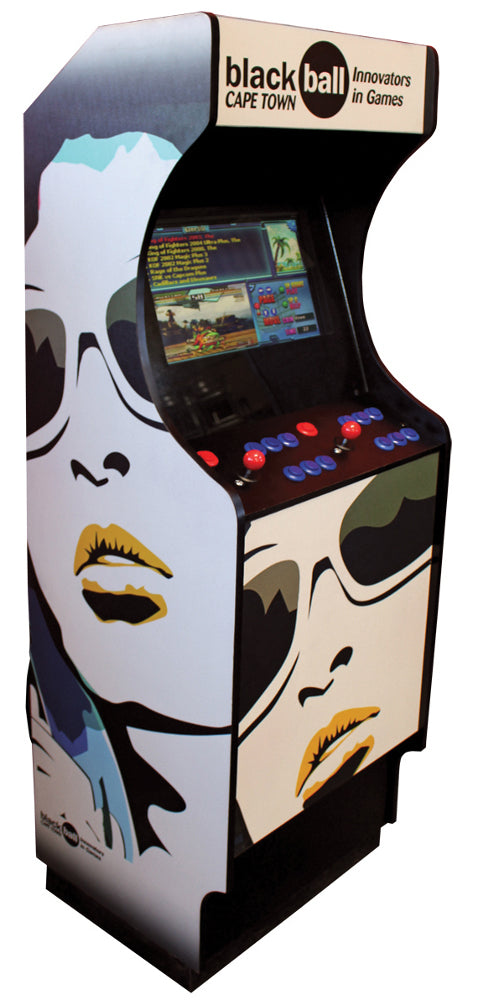 Sleek Arcade - Face Print Decal