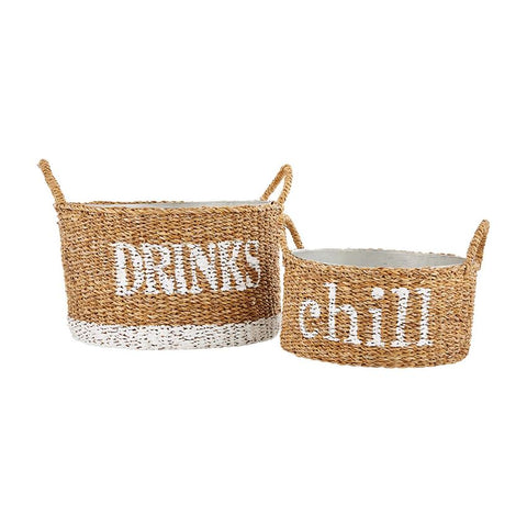 Woven Beverage Tub Set