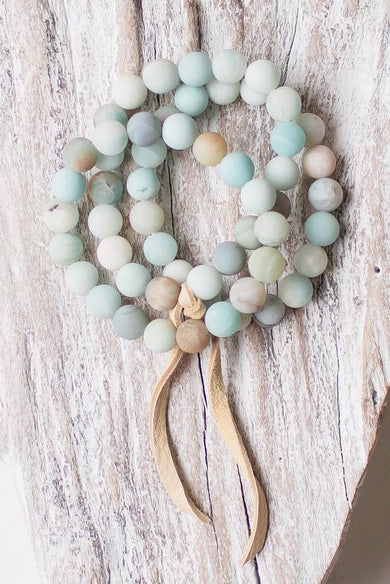 Mandy Amazonite bracelet set