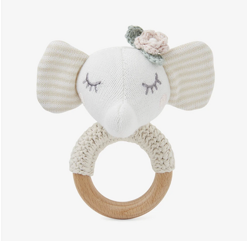 Elephant Rattle Ring