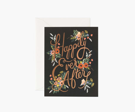 Eternal Happily Ever After Wedding Card