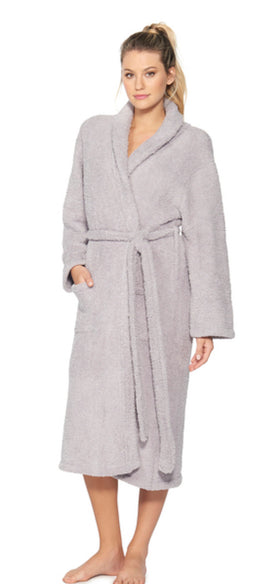 Adult Robe Dove Gray