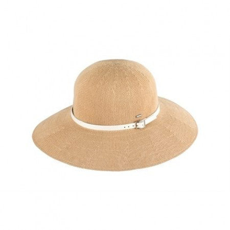 Kooringal Wide Brim Leslie - Natural/White
