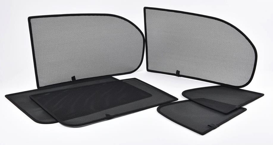 CAR-SHADES-WINDOW-UV-SUN-PROTECTION-METAL FRAME-MESH