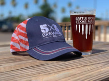 5x5 Flag Cap - Red, White & Blue