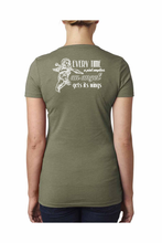 T-Shirt - Angels Wings - OD Green