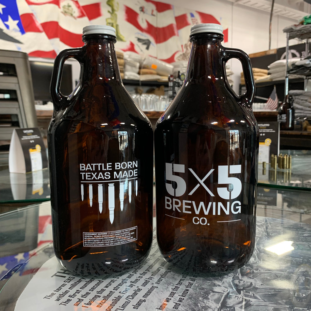 5x5 Growler - 64oz