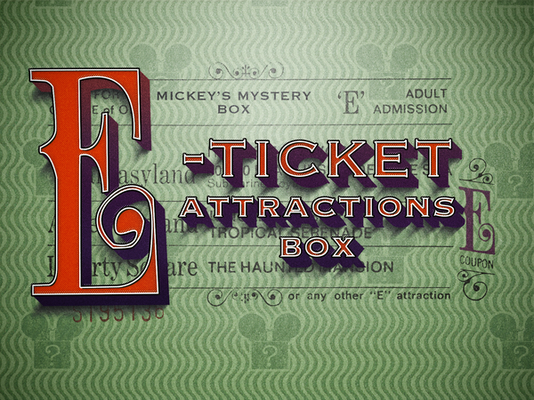 E-Ticket Attractions Box! (Parks and Ride Merch)