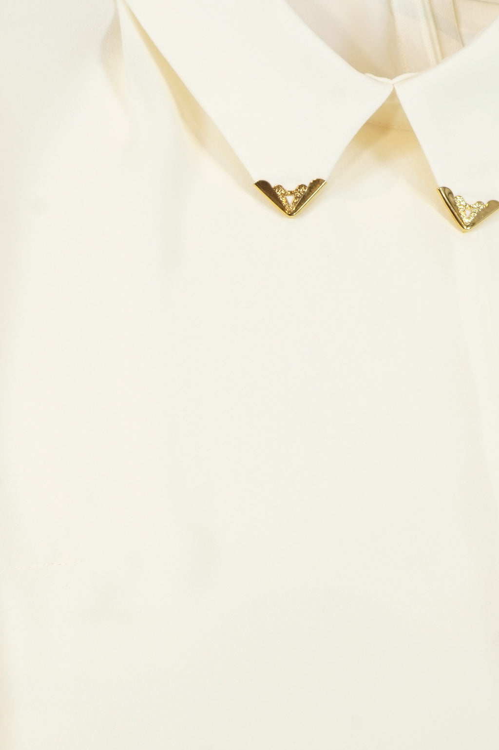 Gold Point Collar Blouse