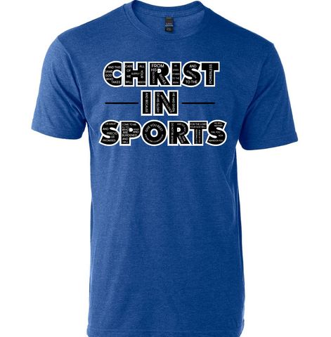 "Christ In Sports ""Scripture Tee"""