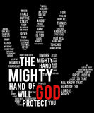 The Mighty Hand 0f God Tee