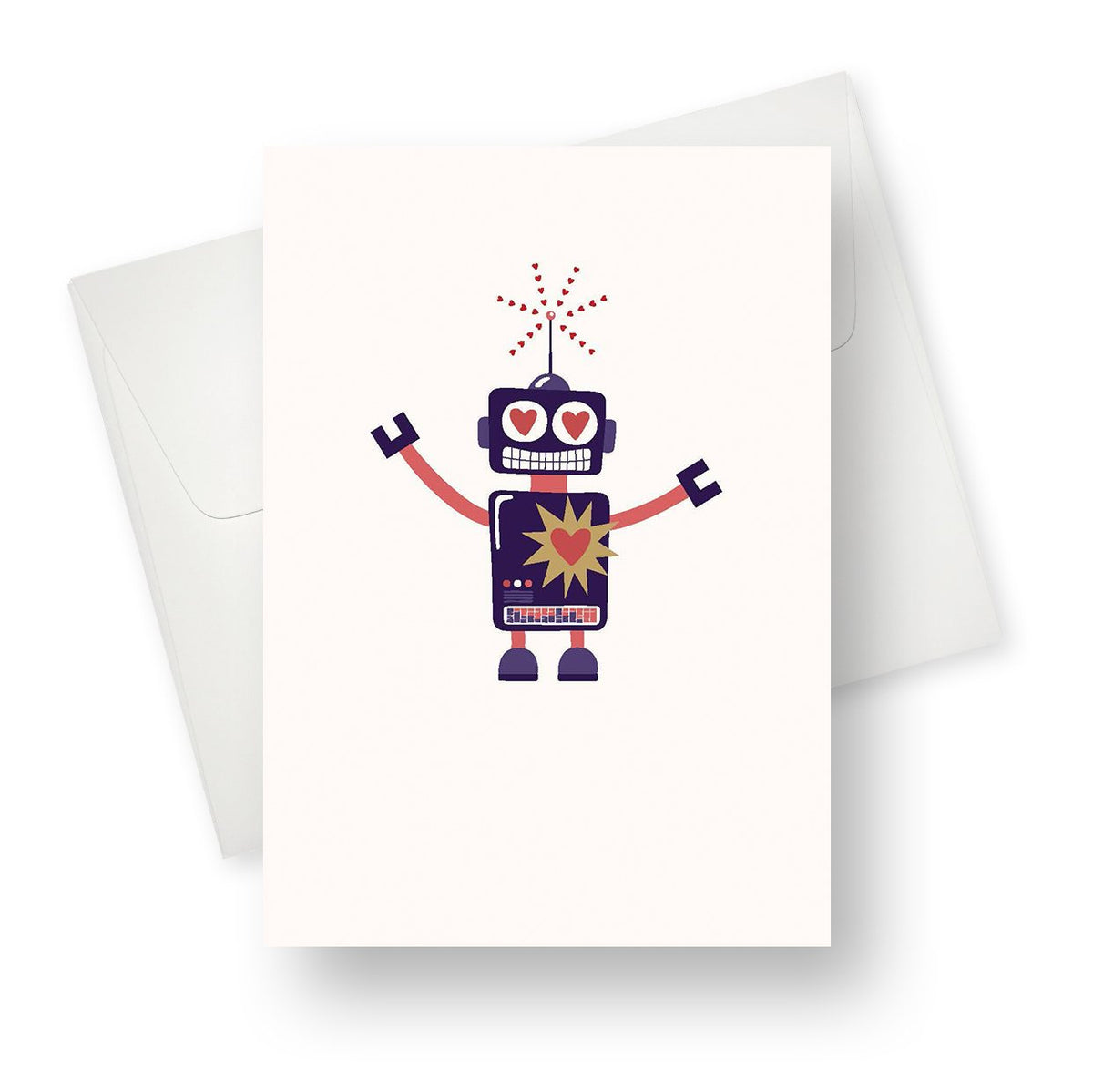 I like you a BOT Greeting Card
