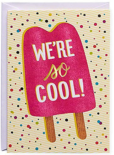 We're so cool! Greeting Card