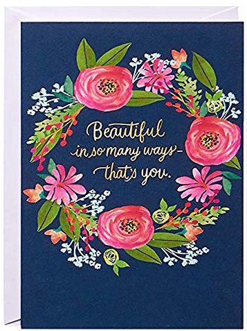 Beautiful in so many ways Greeting Card