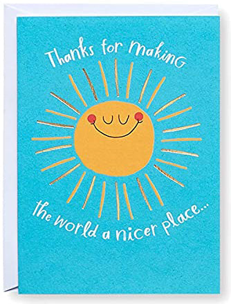 One smile at a time! Greeting Card