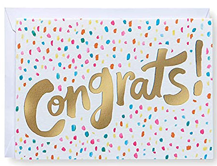 Congrats! Greeting Card