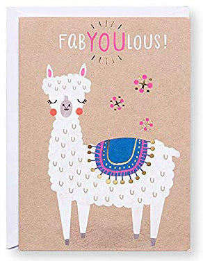 fabYOUlous! Greeting Card