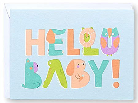 HELLO BABY! Greeting Card