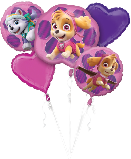 Bouquet PAW PATROL SKYE & EVEREST BOUQUET