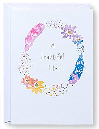 A Beautiful life... Greeting Card