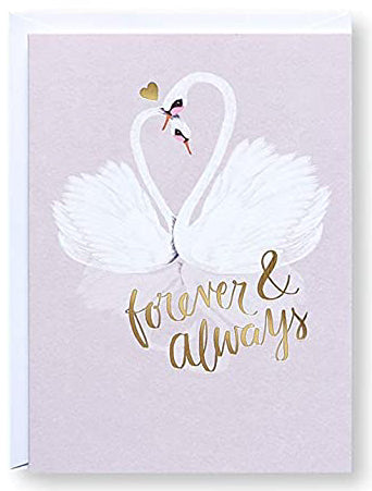forever & always Greeting Card