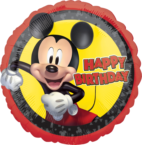 "18"" MICKEY FOREVER BDAY"