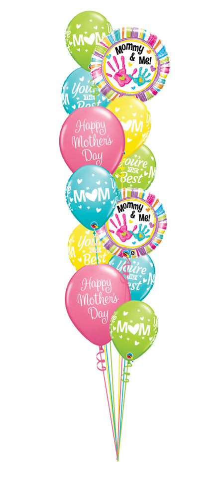 A Dozen Happy Mother's Day Balloons
