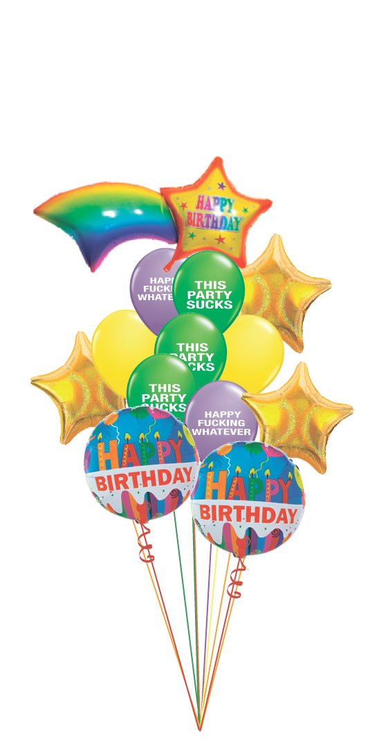 Beautiful balloon bouquets perfect for birthdays, and more!