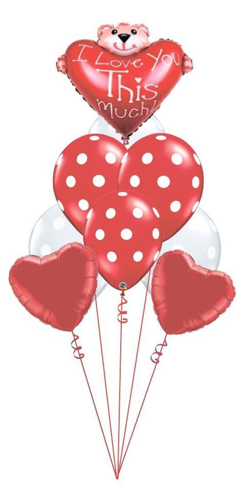 Beautiful balloon bouquets perfect for anniversaries, saying I love you, saying I miss you, the perfect proposal, Valentines Day, and more!