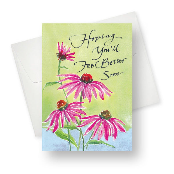 Hoping you'll feel better soon Greeting Card