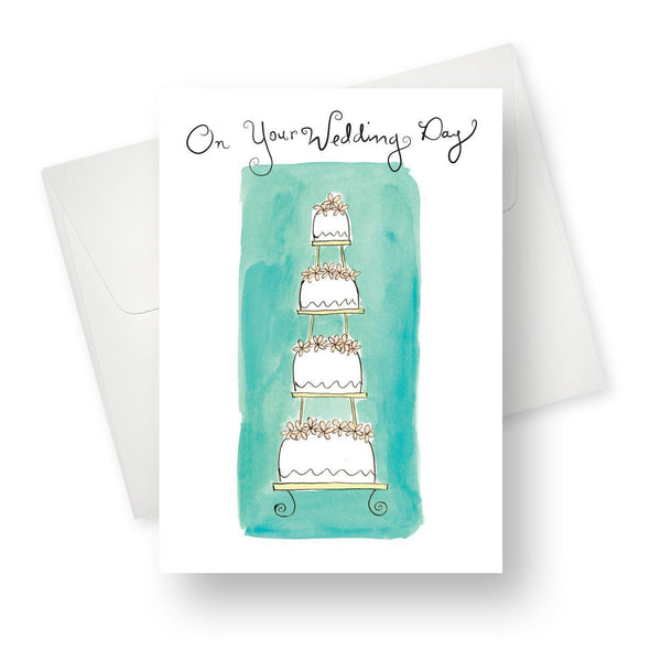 On your wedding day Greeting Card
