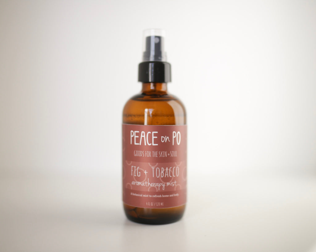 Natural, Phthalate Free, Fig + Tobacco Room and body spray