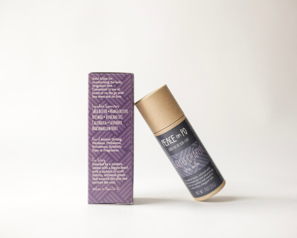 Unscented Herbal Moisturizing Skin Balm. Cruelty Free and Eco-Friendly.