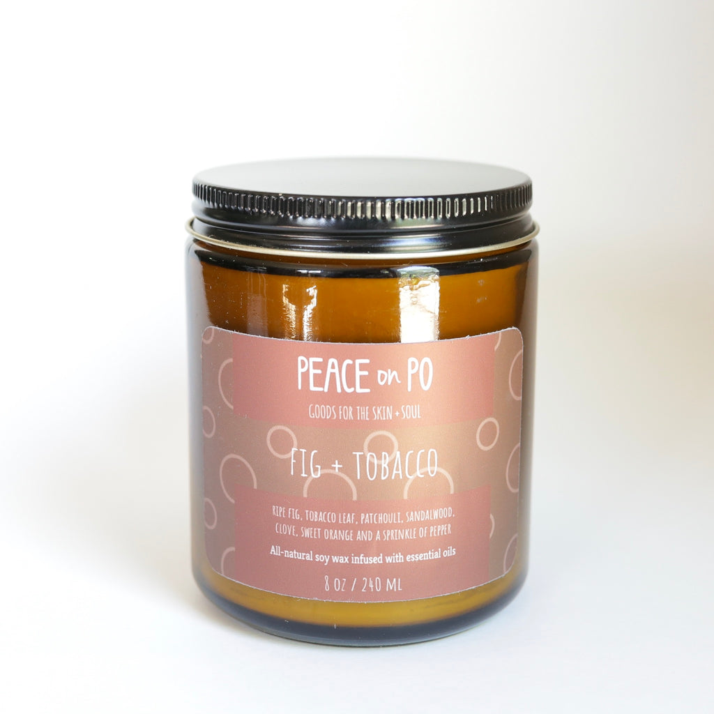 Fig + Tobacco Vegan Soy Candle