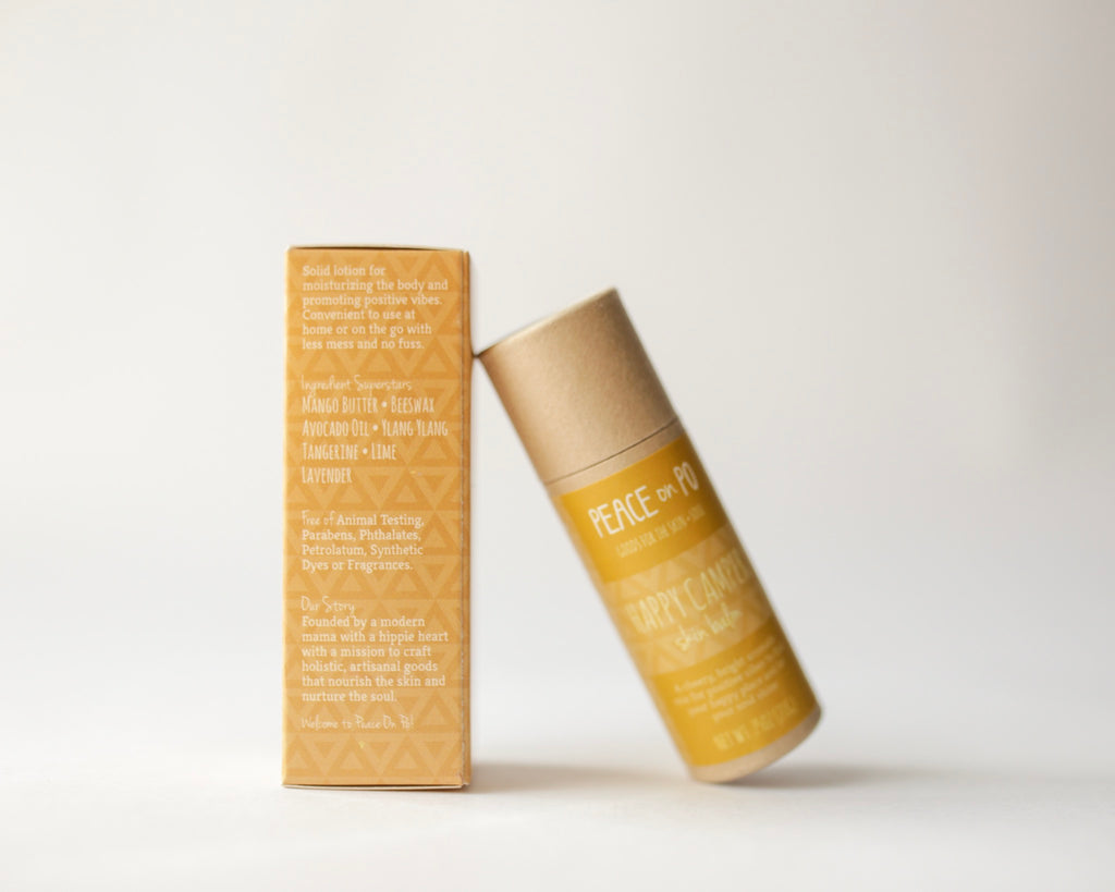 Natural, Eco-Friendly, Zero Waste, Moisturizing, Happy Skin Balm