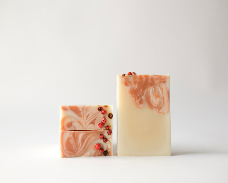 Natural, Vegan, Eco-Friendly Cherry Almond Handcrafted Soap