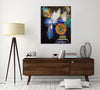 Ikebana Ultramarine | Canvas Print