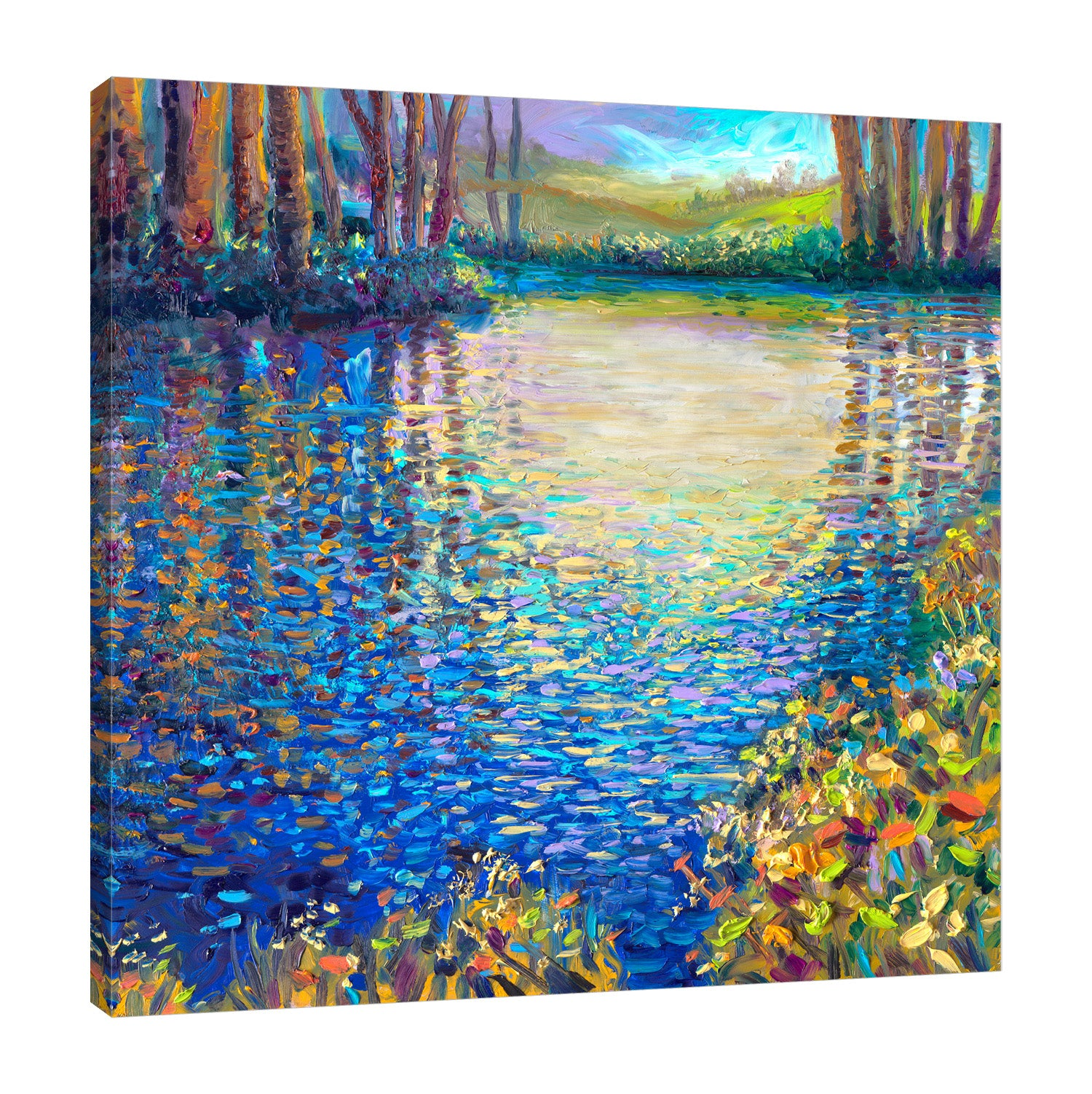 Blue Lagoon | Canvas Print