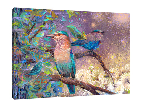 Indian Rollers | Canvas Print